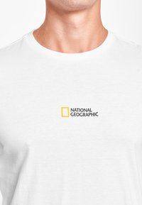 National Geographic - MIT PRINT - Long sleeved top - white - 2