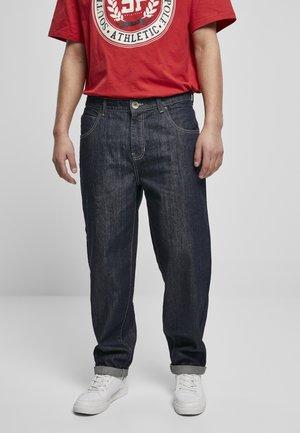 SOUTHPOLE  - Straight leg jeans - raw indigo