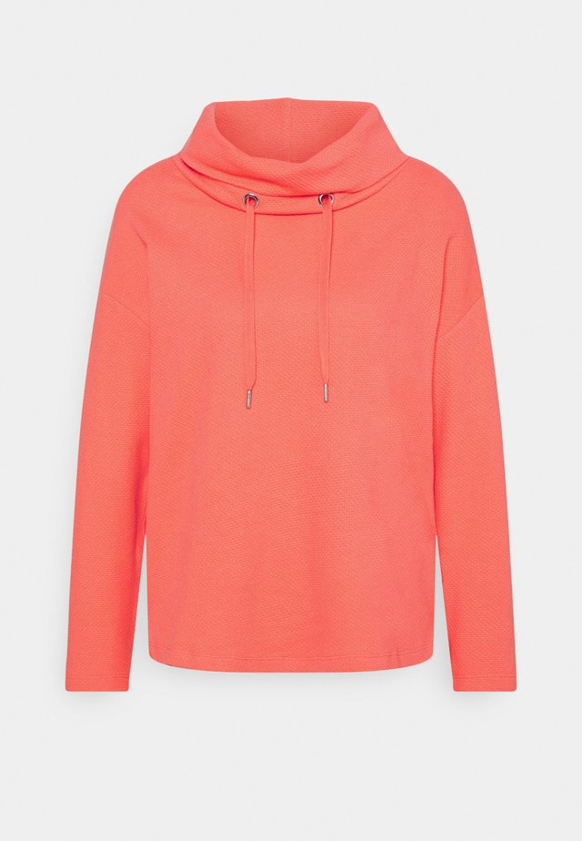 STRUCTURE - Sweatshirt - strong peach tone