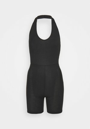 HALTER UNITARD - Jumpsuit - black