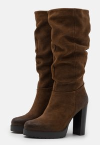 Steven New York - NANSAM - High heeled boots - brown - 2