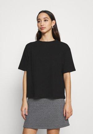 BOXY TEE - Basic T-shirt - black
