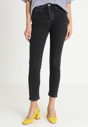 HEPBURN MOM - Slim fit jeans - original black