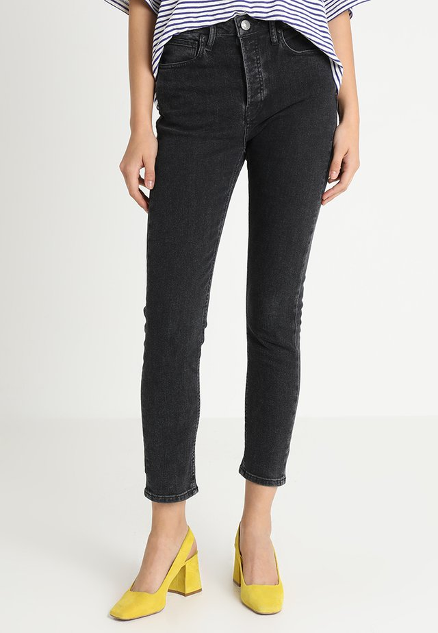 HEPBURN MOM - Slim fit -farkut - original black