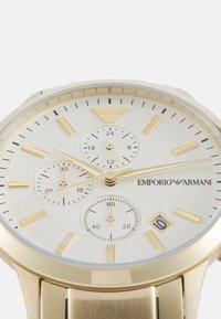 Emporio Armani - RENATO - Cronografo - gold-coloured - 5