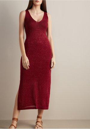 Day dress - sangria