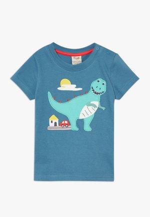 CARSEN DINOUSAUR - T-shirt imprimé - steely blue
