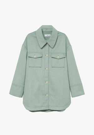 CAKE - Button-down blouse - mint green