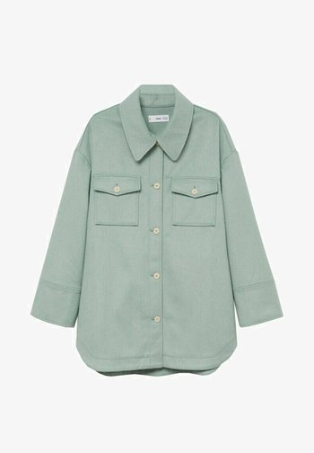 CAKE - Button-down blouse - mint green