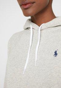 Polo Ralph Lauren - SEASONAL - Bluza z kapturem - light sport heath - 5