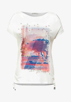MIT FOTOPRINT - Print T-shirt - weiß