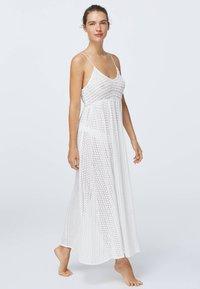 OYSHO - Korte jurk - white - 0