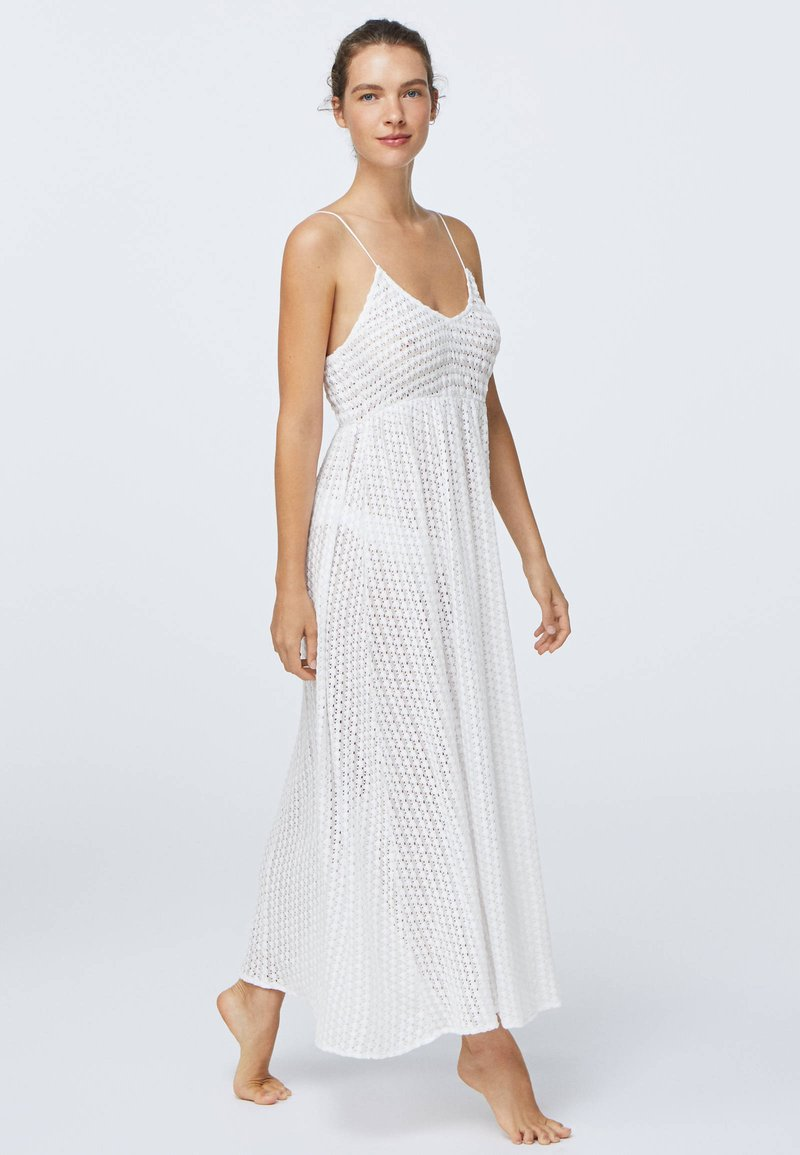 OYSHO - Korte jurk - white