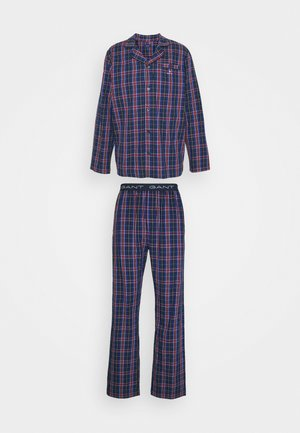 TARTAN CHECK GIFTBOX SET - Pyjamas - marine