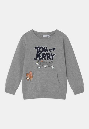 NMMTOM & JERRY CYRUS - Sweater - grey melange