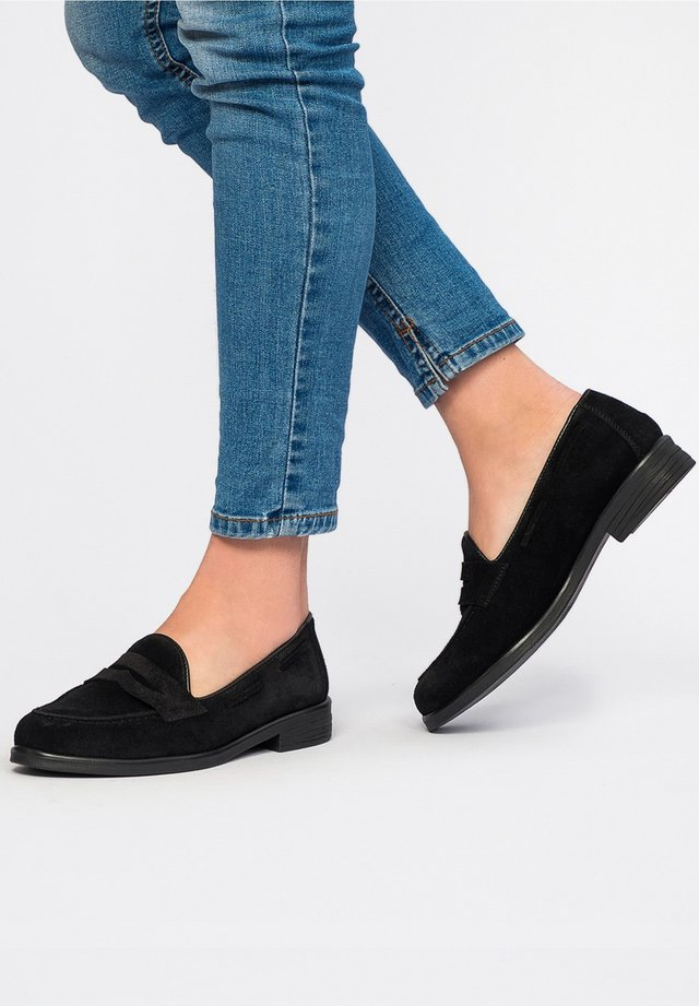 ANTIFAZ PIEL - Mocassins - black