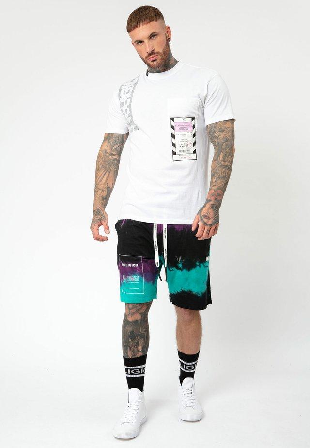 ACCESS TEE - T-shirt print - white