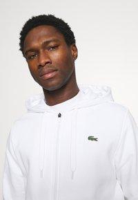 Lacoste - Zip-up hoodie - blanc - 3