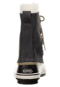 Sorel - PAC 2 - Snørestøvletter - coal - 1