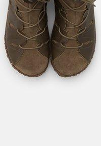 El Naturalista - NIDO - Winter boots - olive - 5