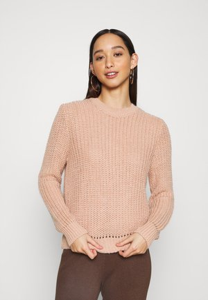 ONLCHERRI - Jumper - misty rose melange