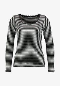 edc by Esprit - CORE FLOW - Long sleeved top - black - 3