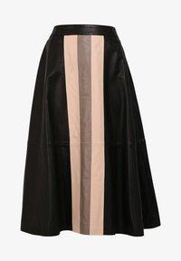 Oakwood - LUCILLE - Áčková sukně - black - 3