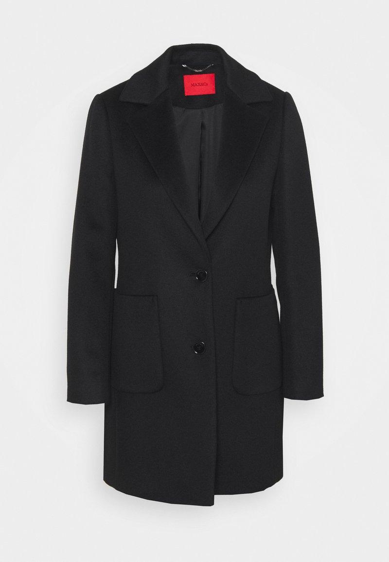 MAX&Co. - DECAEDRO - Classic coat - nero