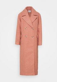 MAXI COAT - Classic coat - dusty pink