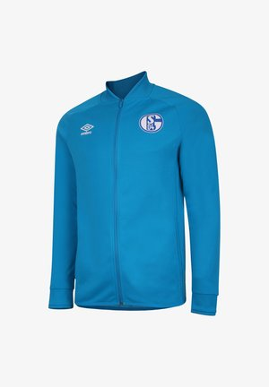 NATIONAL FC SCHALKE 04  - Trainingsvest - blau