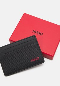 HUGO - AUSTEN CARD CASE UNISEX - Peněženka - black - 3