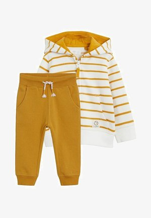 SET - Sweatshirt - mustard yellow