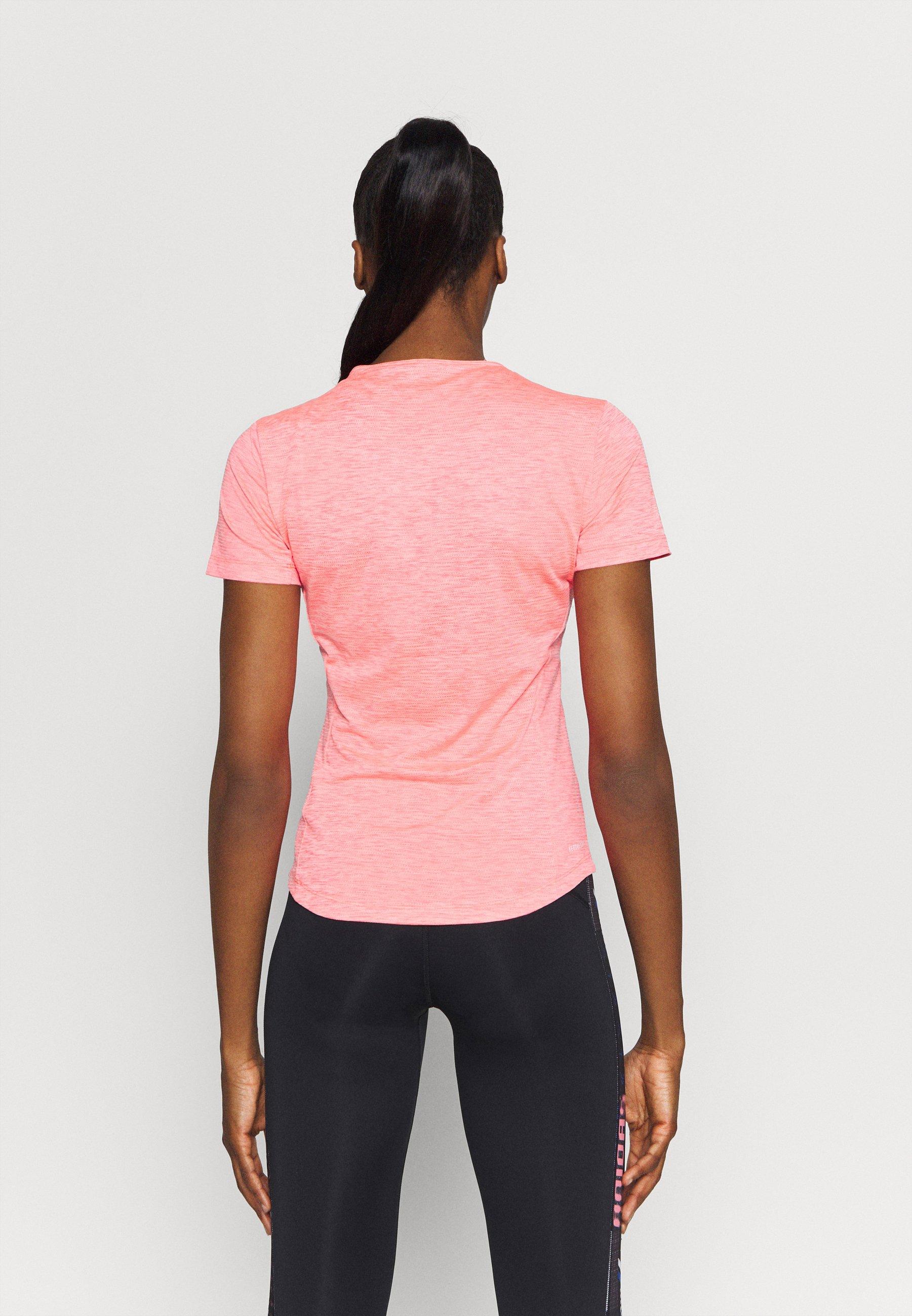 adidas Performance TEE - Basic T-shirt - pink GaHU8