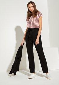 comma casual identity - Trousers - black - 1