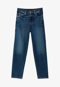 Massimo Dutti - Straight leg jeans - dark blue - 6