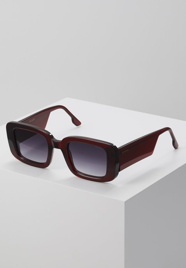 AVERY - Okulary przeciwsłoneczne - burgundy