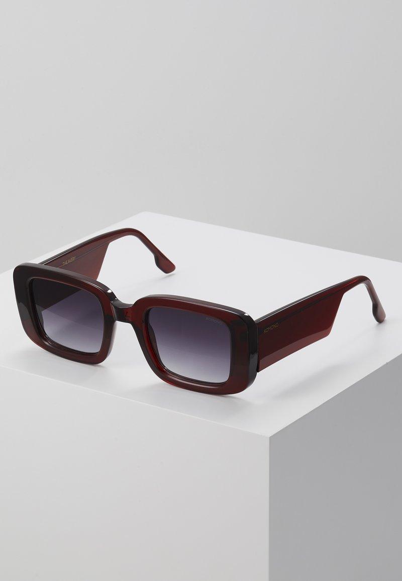 Komono - AVERY - Okulary przeciwsłoneczne - burgundy