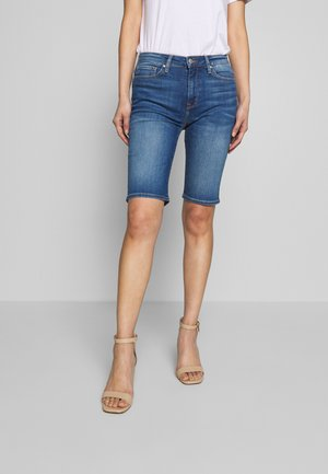 VENICE BERMUDA ELFIE - Denim shorts - blue denim