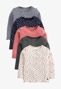 Next - 5 PACK  - Long sleeved top - multi-coloured - 0