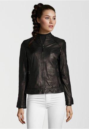 ROSTOCK - Leather jacket - black