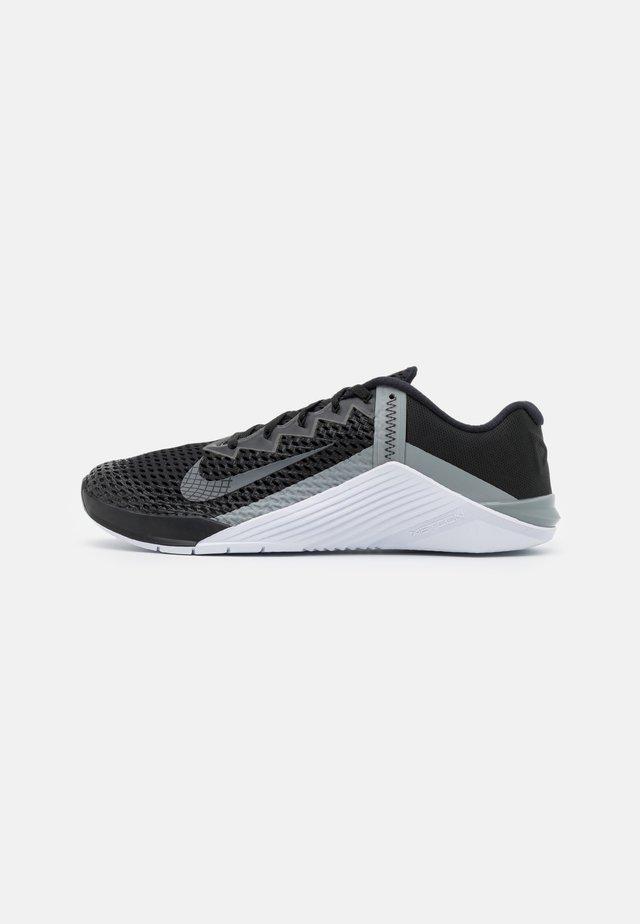METCON 6 UNISEX - Sportschoenen - black/iron grey/white/particle grey/black