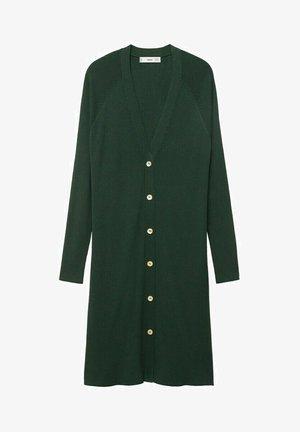 Cardigan - emerald green