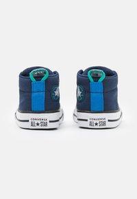 Converse - CHUCK TAYLOR ALL STAR STREET SEASONAL UNISEX - High-top trainers - midnight navy/court green/digital blue - 2