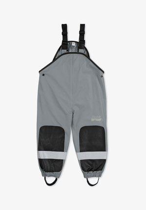 FUNKTIONS-REGENHOSE - Rain trousers - dunkelgrau