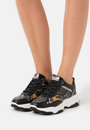 Zapatillas - schwarz/grau