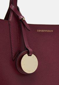 Emporio Armani - Handbag - vinaccia/nero - 5
