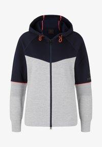 Bogner Fire + Ice - Zip-up sweatshirt - hellgrau/navy-blau - 0