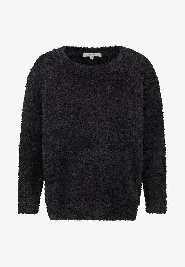CAMANO - Fleece jumper - black