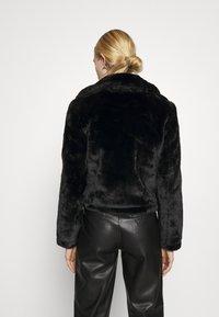 Vero Moda - VMTHEA BIKER JACKET - Winter jacket - black - 2