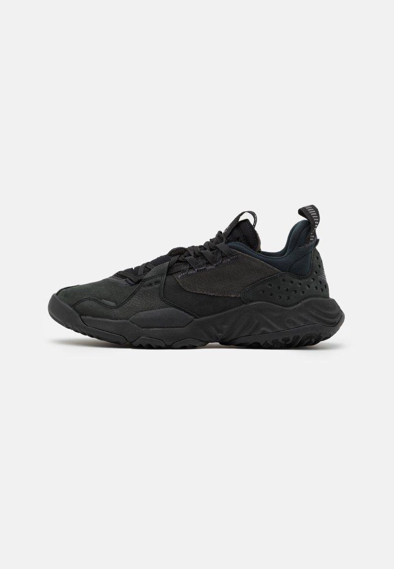Jordan - JORDAN DELTA - Sneakers basse - black/anthracite/volt